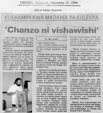 1994 uhuru