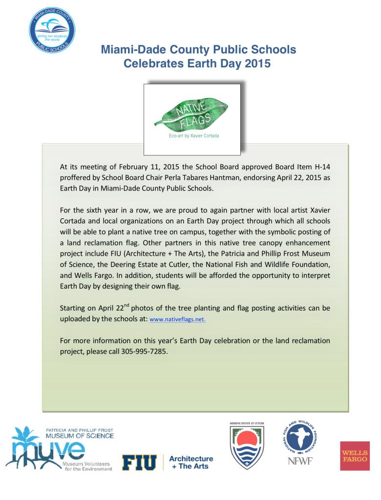 earthday 2015 announce
