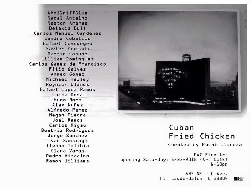 Cuban Fried Chicken invitation