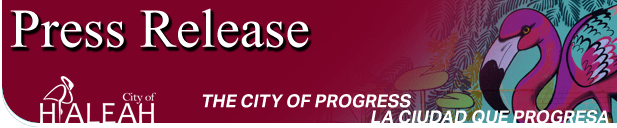 hialeah press release logo