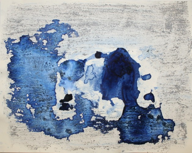 "Xavier Cortada, ""Astrid,"" (Antarctic Ice Painting), 2007."