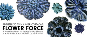 Register to join Xavier Cortada's Flower Force in partnership with the Village of Palmetto Bay for his newest public art piece