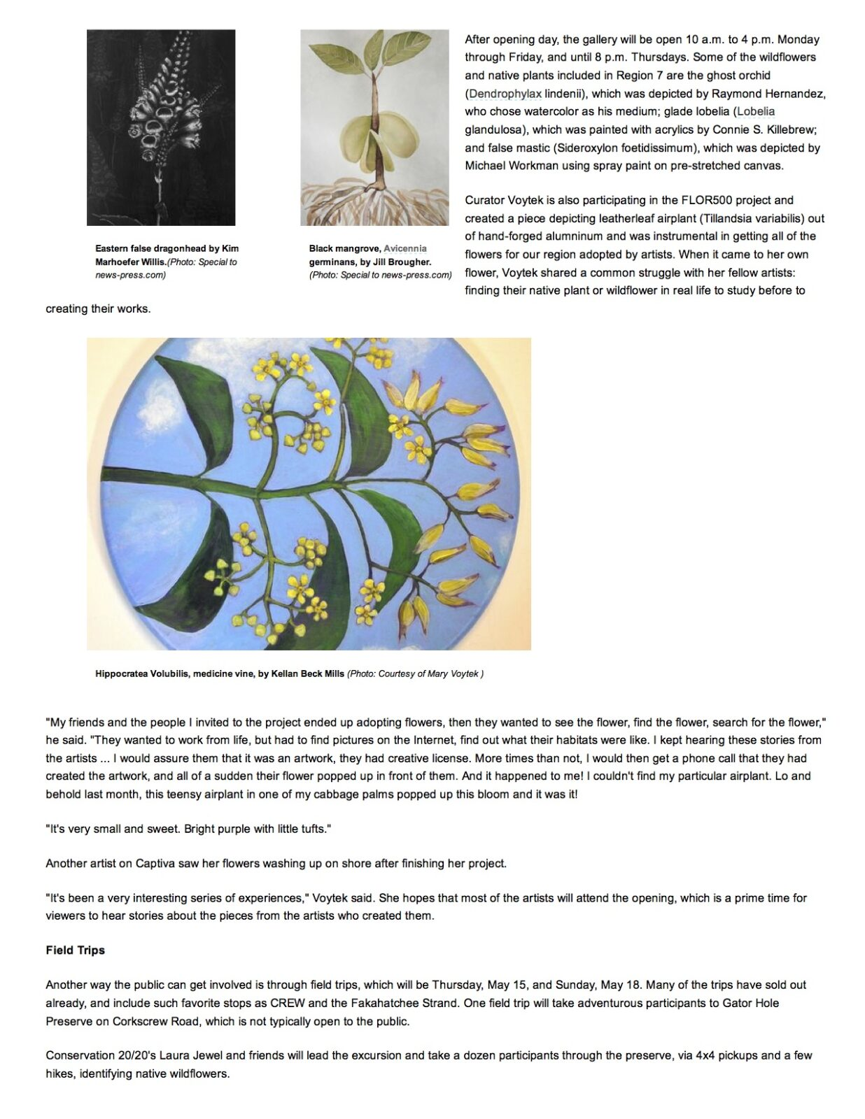 Growing Native- FGCU hos...lant Society conference page 2