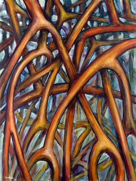 Mangrove-Roots_2007_Cortada